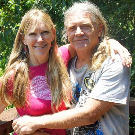 Yoga Essentials owners Cindy and Kai Von Pannier